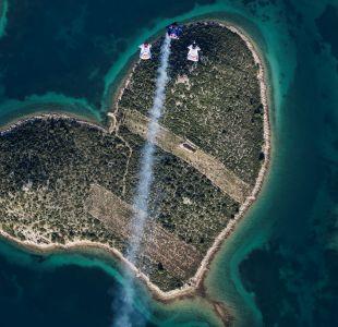 Celebraron el Día de los Enamorados con un salto a la Isla del Amor