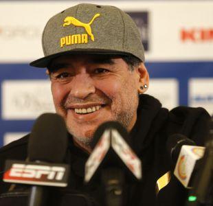 [VIDEO] Otra más de Maradona en Madrid: así termina tras almuerzo en la capital española