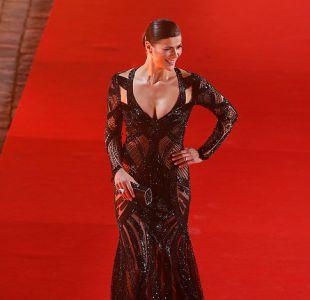 Tonka Tomicic en la gala de Viña 2015