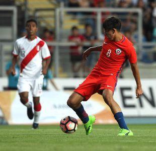 [FOTOS] La Roja Sub 17 cae en duelo de preparación ante Perú en Rancagua