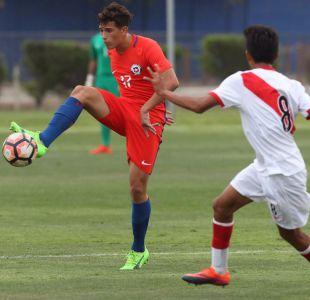 [FOTOS] Chile Sub 17 vence a Perú en amistoso a puertas cerradas en el CDA
