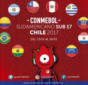 [FOTOS] El fixture del Sudamericano Sub 17