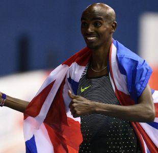 Británico Mo Farah supera su propio récord europeo en los 5.000 metros planos