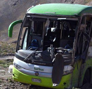 [VIDEO] Chofer de Turbus accidentado en Argentina arriesga 25 años de cárcel