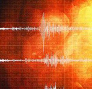 Sismo de baja intensidad de registra en el sur del país