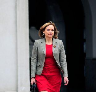 Carolina Goic asegura que está convencida de ir a primera vuelta y dispara contra el PC