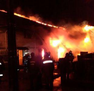 Gran incendio en Puerto Montt dejó a tres personas fallecidas