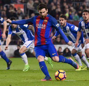 Lionel Messi salva al Barcelona de una nueva decepción en la liga española