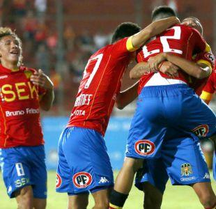 Unión Española golea a Deportes Temuco y consigue su primer triunfo en el Clausura 2017