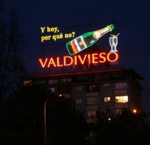 Monumentos Nacionales acusa intervención no autorizada en histórico letrero de Valdivieso