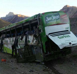 Accidente en Mendoza: conductor de Turbus amenazó con quitarse la vida