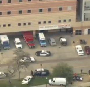 Reportan tiroteo en hospital en Houston
