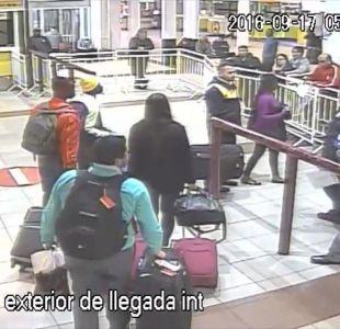 [VIDEO] Bandas de chilenos se hacen pasar por delincuentes en el aeropuerto de Santiago