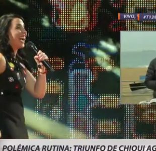 [VIDEO] ¿Adecuada o inadecuada? Polo Ramírez comenta la polémica por la rutina de Chiqui Aguayo