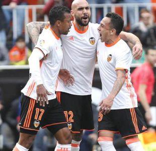 [Minuto a Minuto] Valencia vence al Real Madrid con gol de Fabián Orellana