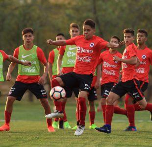 """[FOTOS] El entrenamiento de la """"Rojita"""" a un día del debut en el Sudamericano Sub 17"""