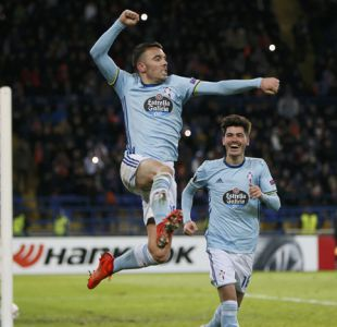 Celta de Vigo vence al Shakhtar en la prórroga y avanza a los octavos de la Europa League