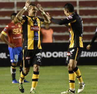 Unión Española cae ante The Strongest y se despide de la Libertadores
