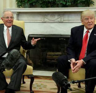 Trump y Kuczynski discuten sobre Venezuela y compra de equipos militares
