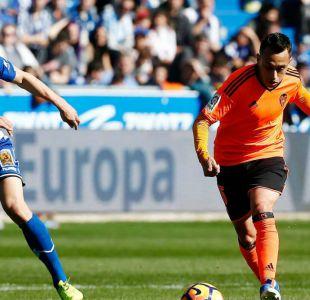 [Gol a Gol] Fabián Orellana es titular en duelo de Valencia ante Barcelona