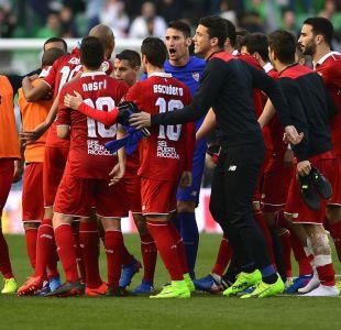 Sevilla de Sampaoli gana el clásico ante Betis y alcanza el liderato en España