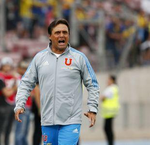 Hoyos conforme con empate de la U y respalda a Fernández : Es el mejor partido que le he visto