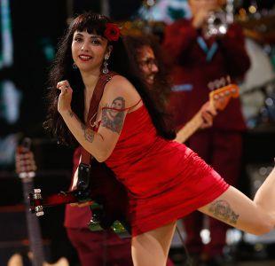 Mon Laferte fue la gran protagonista de la noche de cierre de Viña 2017