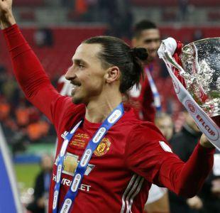 Zlatan Ibrahimovic es figura y le brinda título de la Copa de la Liga al Manchester United
