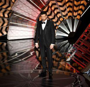 Jimmy Kimmel en el comienzo de los Oscar 2017