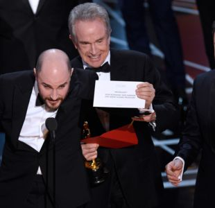 [VIDEO] No es un chiste, ustedes ganaron: un error de película en los Oscar