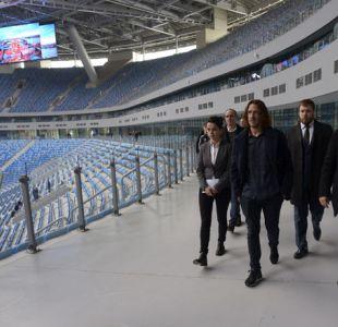 FIFA confía en que estará listo el estadio de San Petersburgo para la Confederaciones y el Mundial