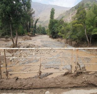 """Bachelet por aluviones: """"Estamos desplegando todos nuestros esfuerzos"""""""
