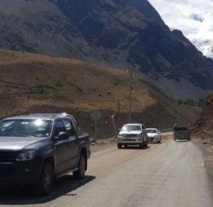 Baños Morales: se rehabilita camino que tenía a turistas aislados en Cajón del Maipo