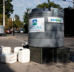 Aguas Andinas estima normalización del servicio a partir de las 20 horas en Santiago