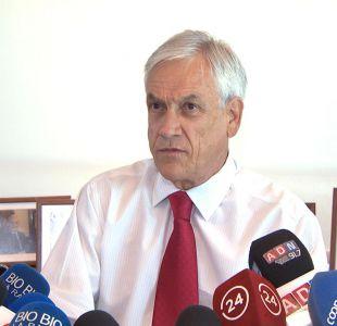 Piñera respalda al Gobierno tras negar visa a ministro de Defensa boliviano