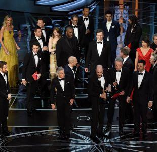 Los Premios Oscar 2017 terminaron con un gran bochorno