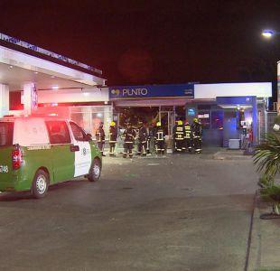 [VIDEO] Guardia fue atropellado tras asalto en cajero automático