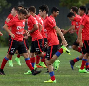 [FOTOS] Selección chilena Sub 17 entrena pensando en su desafío clave ante Ecuador