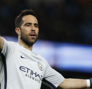 Claudio Bravo vuelve a ser suplente en victoria de Manchester City en Premier League