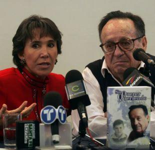 Florinda Meza y su fallecido esposo, Roberto Gómez Bolaños