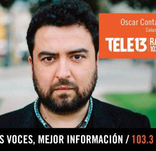 Óscar Contardo analiza la conferencia de prensa de Bachelet