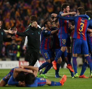 [VIDEO] Revisa histórica remontada del Barcelona para clasificar a cuartos de Champions