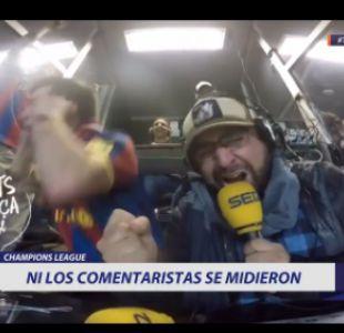 [VIDEO] Los desatados festejos de los comentaristas por el triunfo del Barcelona