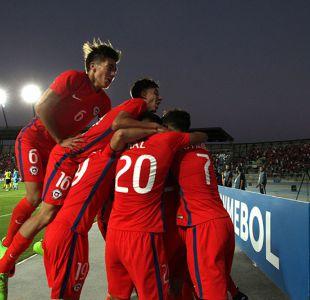 [FOTOS] Las postales del gran triunfo de La Roja frente a Colombia por el Sudamericano Sub 17