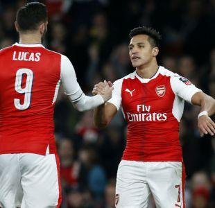 Alexis Sánchez anota en goleada de Arsenal sobre Lincoln City por Copa FA