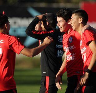 [FOTOS] La Roja Sub 17 se alista para buscar la clasificación al Mundial ante Paraguay