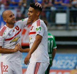 Felipe Mora es figura al marcar tres goles en victoria de la U ante Audax Italiano