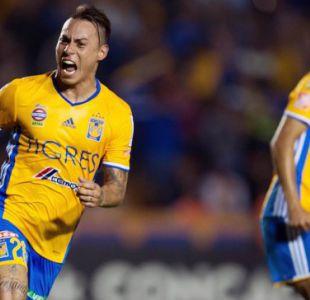 [VIDEO] Eduardo Vargas marca en triunfo de Tigres por las semifinales de la Concachampions