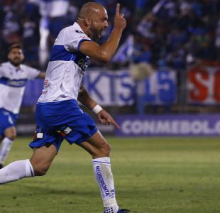 """El """"Tanque"""" Silva le da valioso triunfo a Católica sobre Flamengo en la Copa Libertadores"""