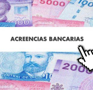 Acreencias bancarias 2017